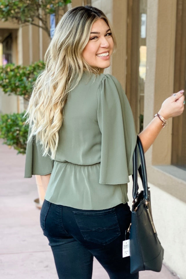 Twist Me Up Blouse