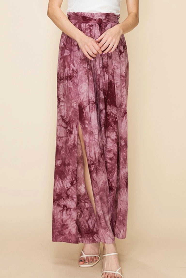 Tie Dye Relaxed Fit Pants