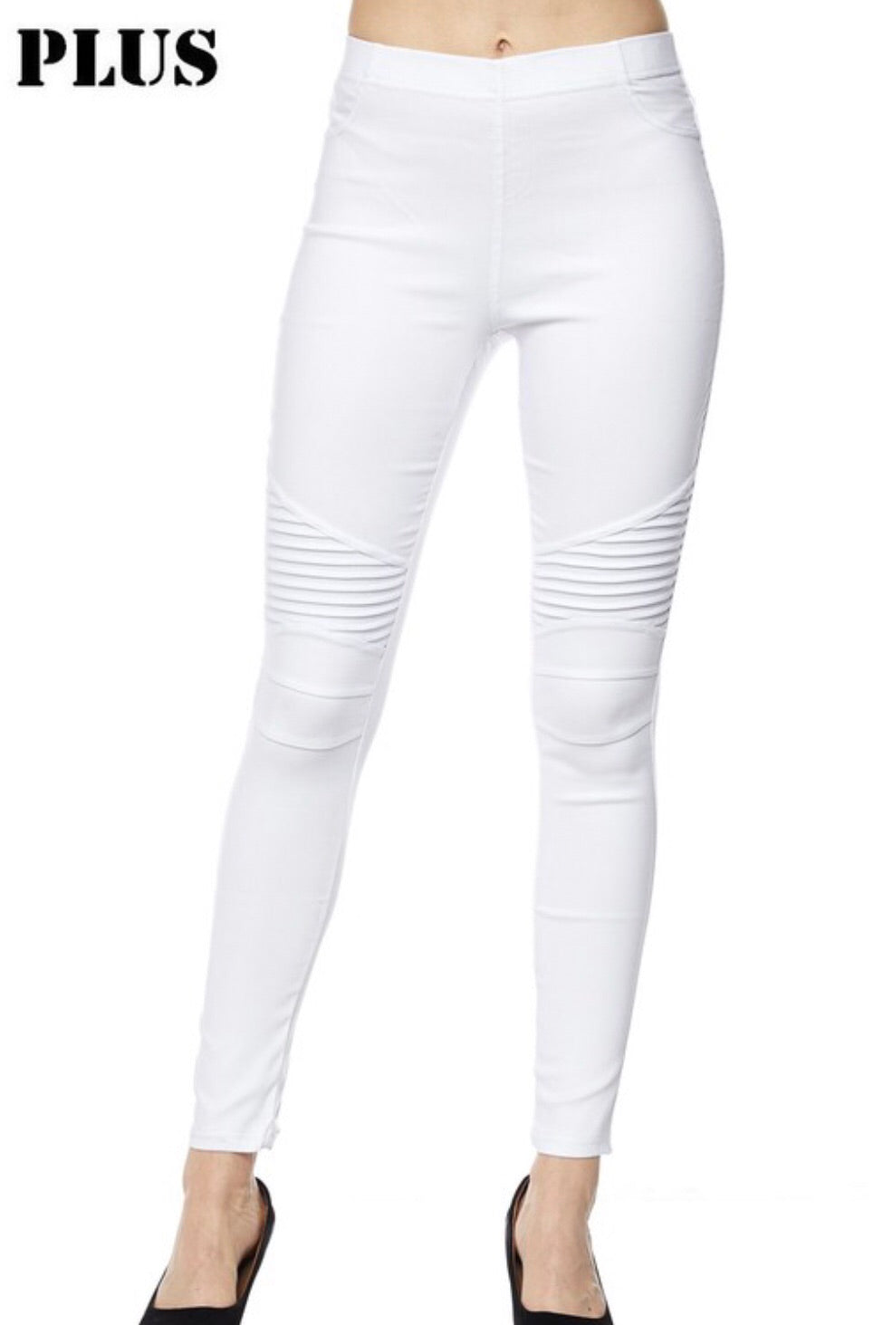 Plus Hallelujah Moto Jeggings