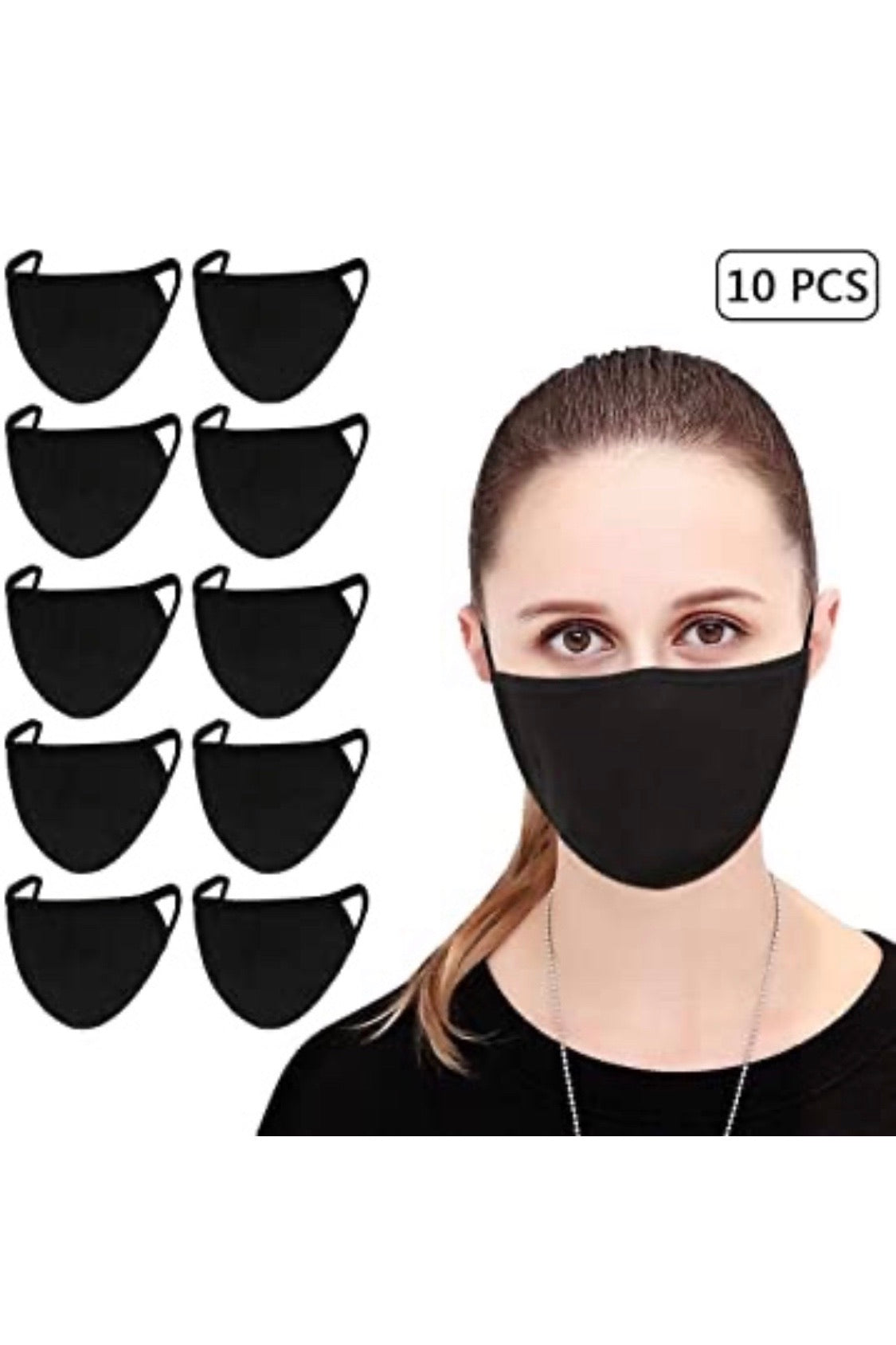 Cotton Masks (10 pack)