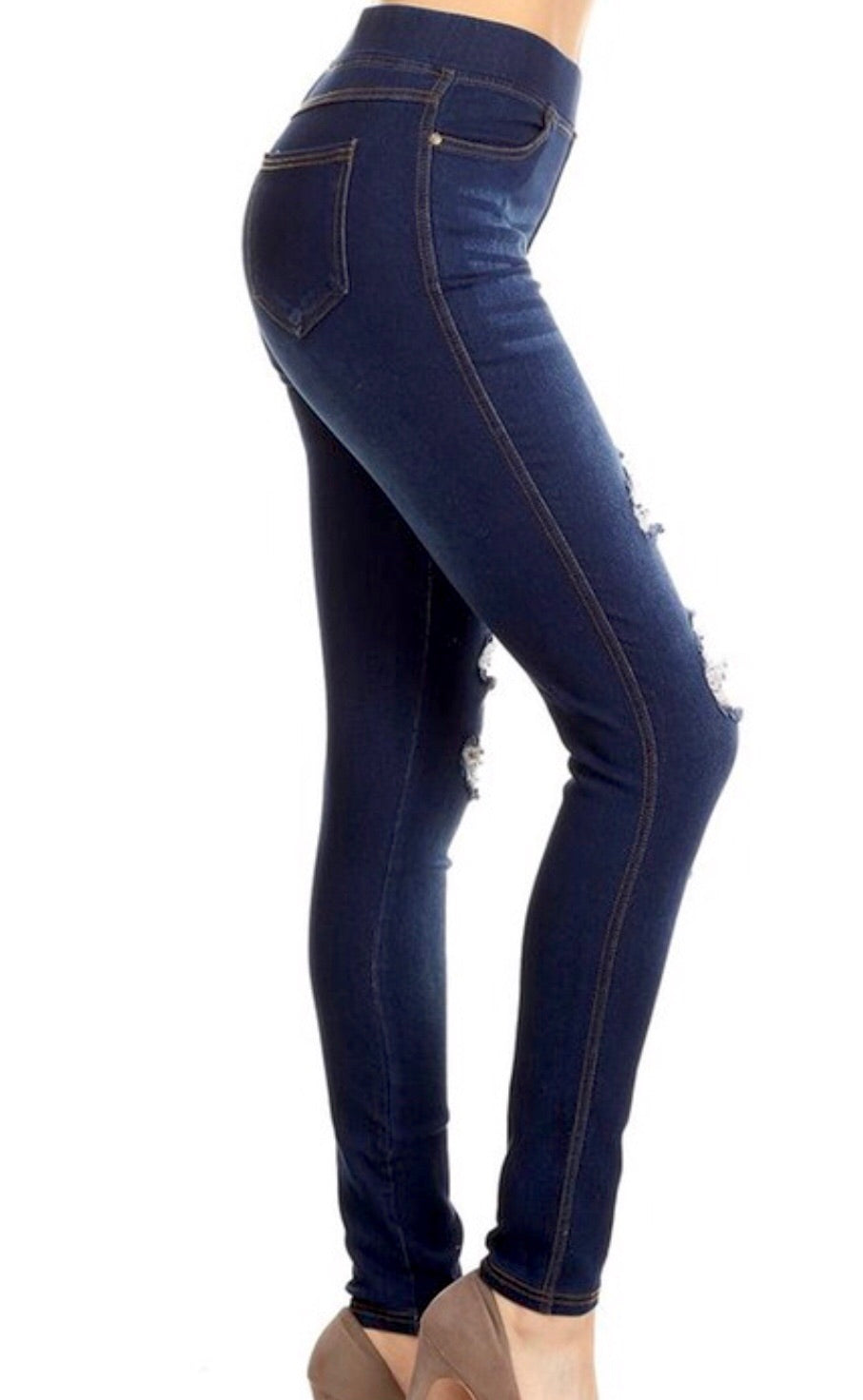 Hallelujah Distressed Jeggings