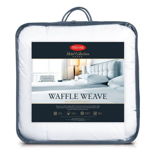 Hotel Collection Waffle Weave All Seasons Quilt by Tontine