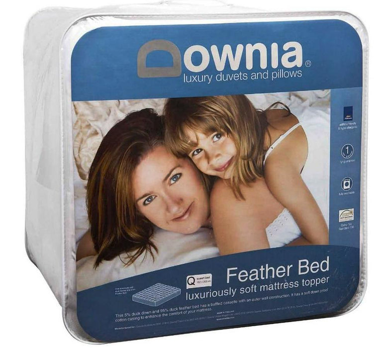 Feather Bed Mattress Topper by Downia