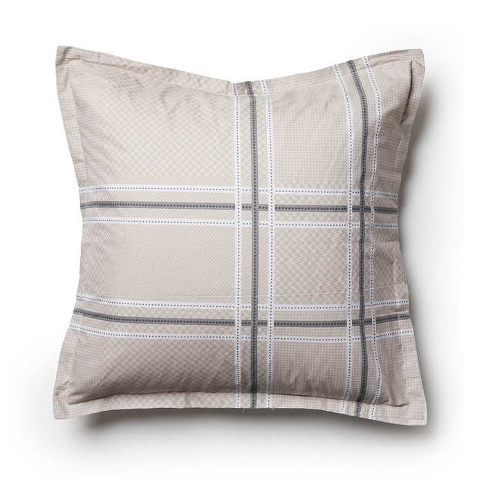 Charlie Slate European Pillowcase by Logan and Mason