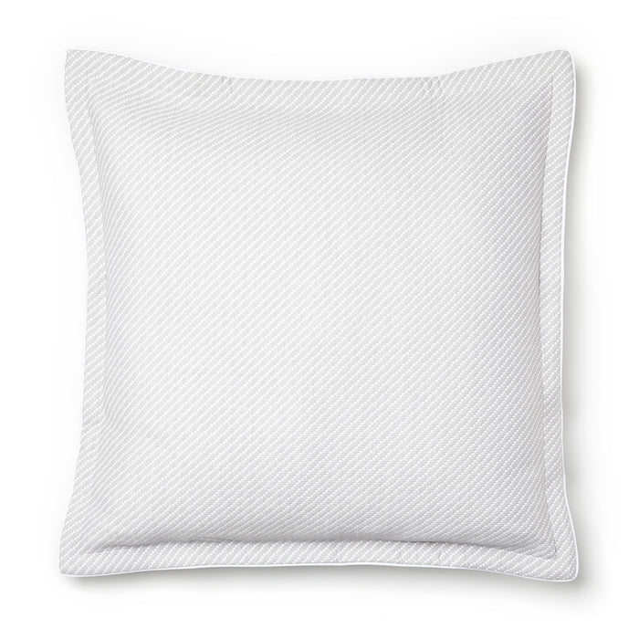 Tier Silver European Pillowcase by Private Collection