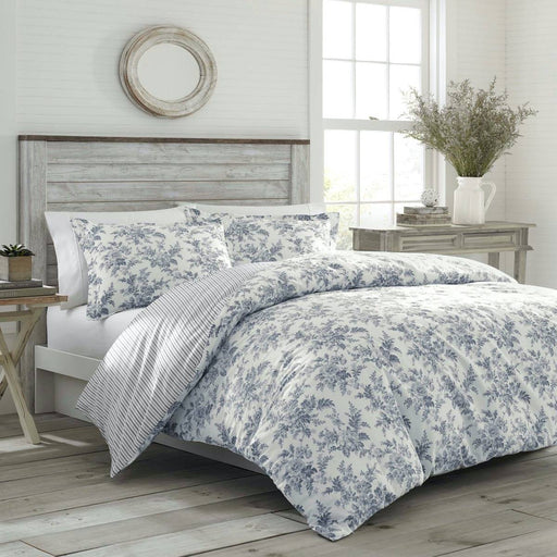 Annalise SHADOW GREY Quilt Cover Set by Laura Ashley