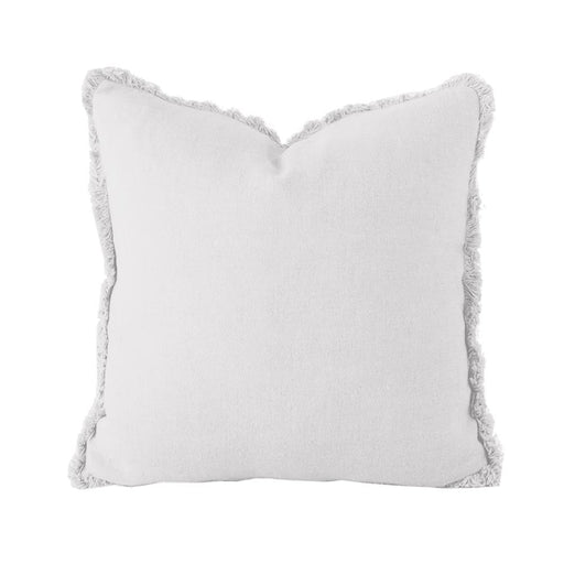 Linen Cushion - Square - Silver by Bambury