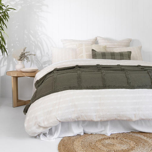 Carey Quilt Cover Set by Bambury