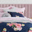 Bouquet Navy Quilt Cover Set by Logan and Mason