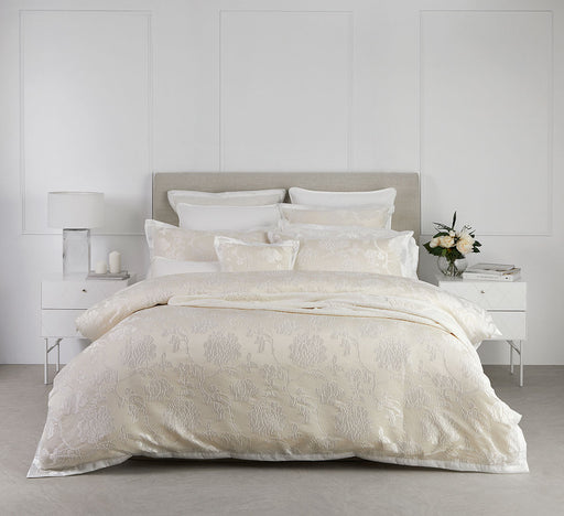 Catalina Quilt Cover Set Pearl By Logan and Mason