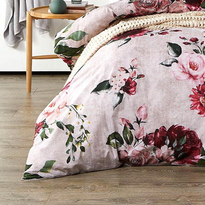 Cherub Rose Quilt Cover Set by Logan and Mason