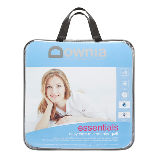 Essentials Easy Care Microdenier Quilt by Downia