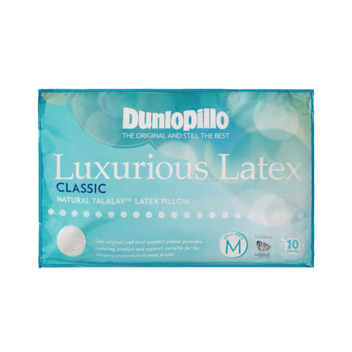 Dunlopillo Therapillo Latex Classic Medium Profile Pillow