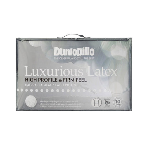 Dunlopillo Luxurious Latex High Profile & Firm Feel Pillow