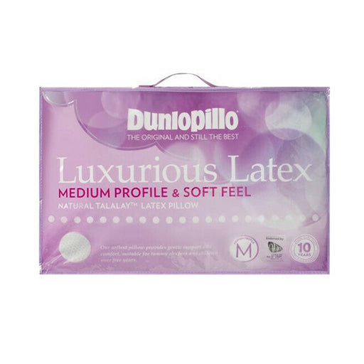 Dunlopillo Luxurious Latex Medium Profile & Soft Feel Pillow