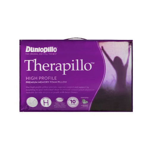 Dunlopillo Therapillo Premium High Profile Memory Foam Pillow