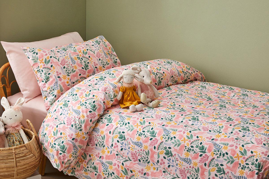Earth Spirit Quilt Cover Set by Jiggle & Giggle