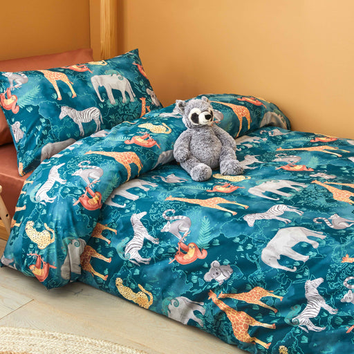 Jungle Explorer Quilt Cover Set by Jiggle & Giggle