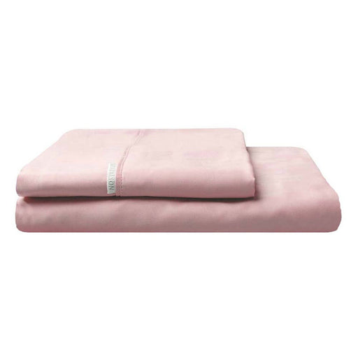 300TC Cotton Percale Fitted Sheet and Pillowcase Combo Dusk by Logan and Mason