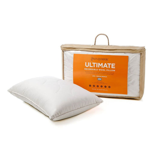 Ultimate Wool Pillow by MiniJumbuk LOW / MED