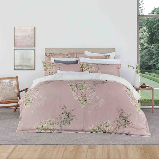 Mizumi Blush Quilt Cover Set by Logan and Mason