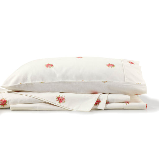 French Bouquet Flannelette Sheet Set by Bianca