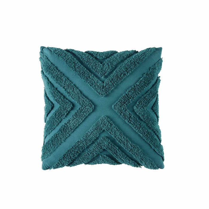 Haven 43x43cm Filled Cushion Teal by Bianca