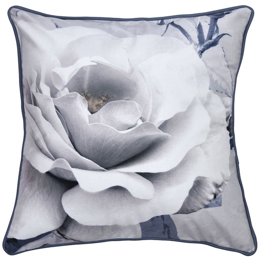 Scarlett Grey Square Filled Cushion By Bianca