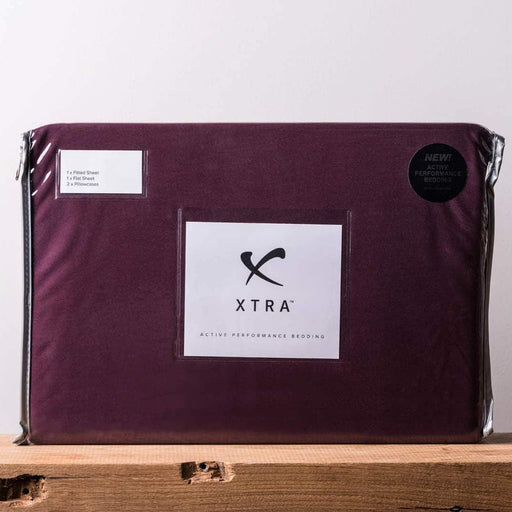Xtra Active Performance Sheets - Burgundy