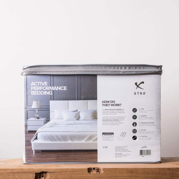 Xtra Active Performance Sheets - White
