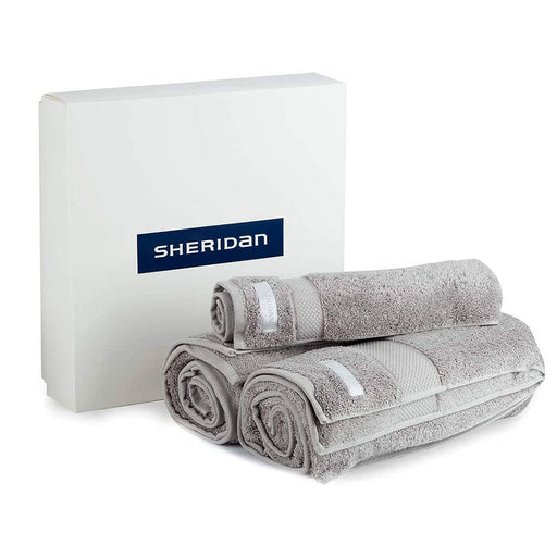 Luxury Egyptian Towel Gift Set by Sheridan Silver