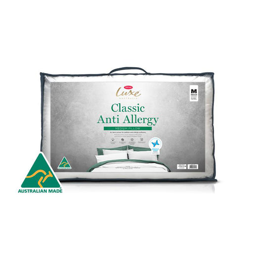 Luxe Anti-Allergy Pillow Medium Profile by TONTINE