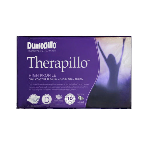 Therapillo Dual Contour Memory Foam High Profile Pillow