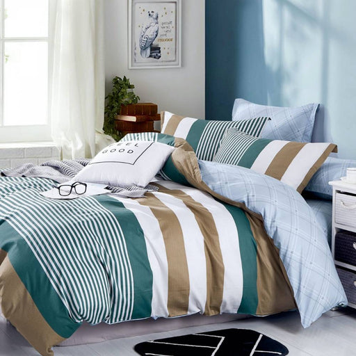 JASPER MULTI QUILT COVER SET BY ARDOR