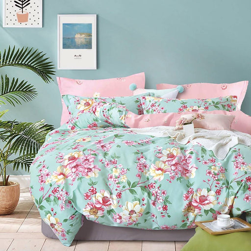 MISSY PINK QUILT COVER SET BY ARDOR