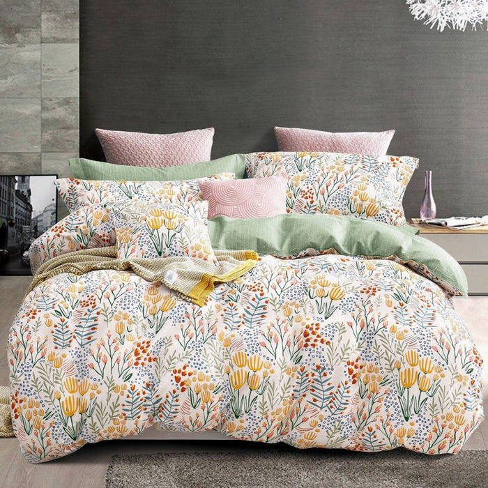 Stella Multi Quilt Cover Set by Ardor