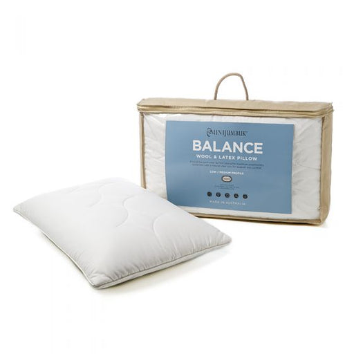 Balance Standard Pillow by MiniJumbuk