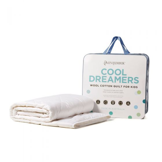 Cool Dreamers Kids Quilt by MiniJumbuk