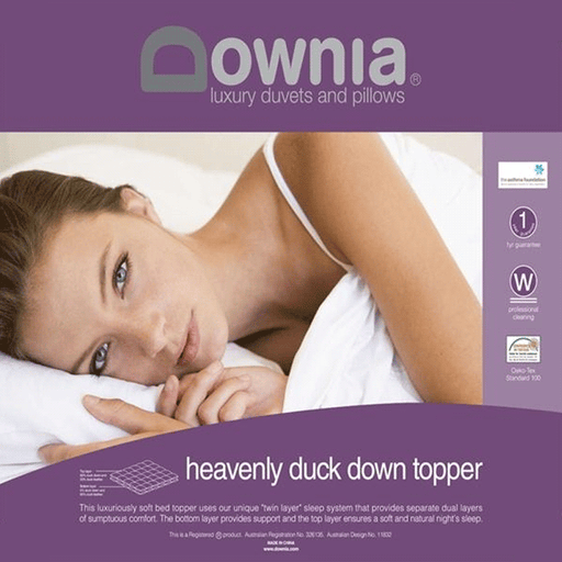 Downia Heavenly Duck Down Mattress Topper