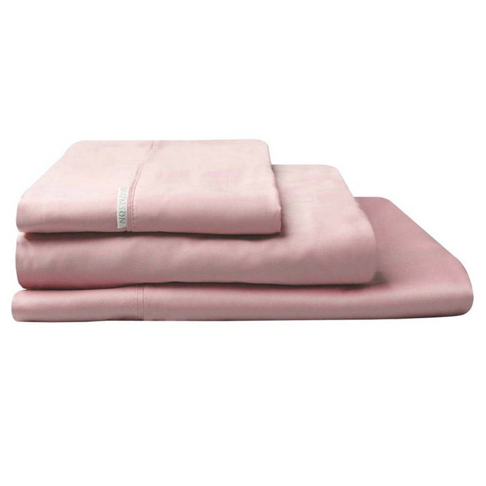 300TC Cotton Percale Sheet Set Dusk by Logan and Mason