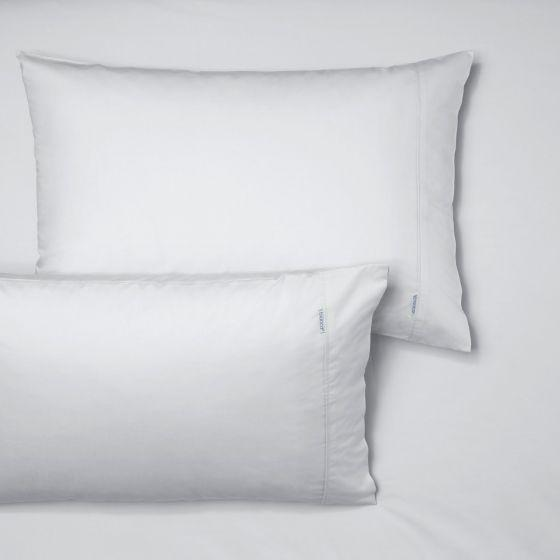 Heston 300TC WHITE FITTED SHEET + PILLOWCASES by Bianca