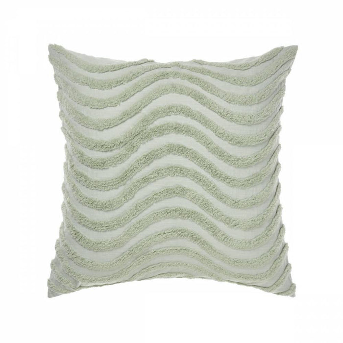 AMADORA WASABI EUROPEAN PILLOWCASE BY LINEN HOUSE