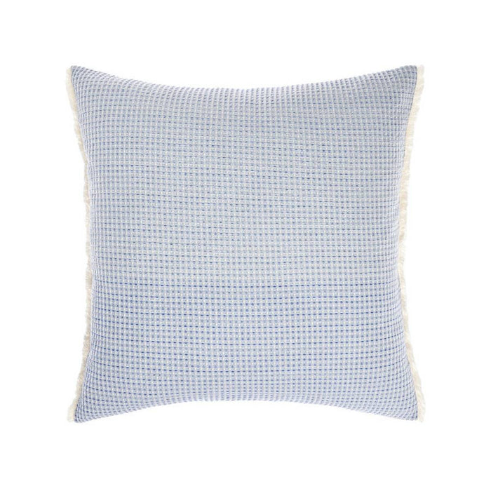 Lagos Blue European Pillowcase by Linen House