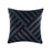 Phoenix 48 x 48cm Cushion Slate by Linen House