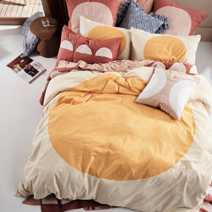 Solar Marigold Quilt Cover Set by Linen House