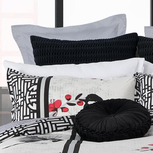 Noto White Quilt Cover Set  By Logan & Mason