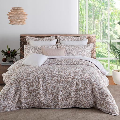 Harlow Linen Quilt Cover Set By Private Collection