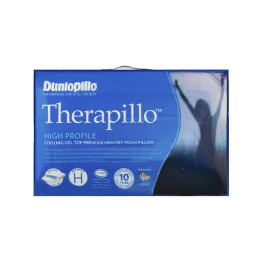 Therapillo Cooling Gel Top Premium Memory Foam High Profile Pillow