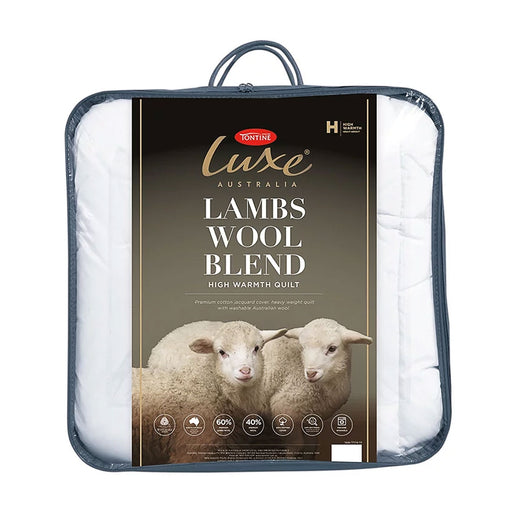 Luxe Lambs Wool Blend High Warmth Winter Quilt by Tontine