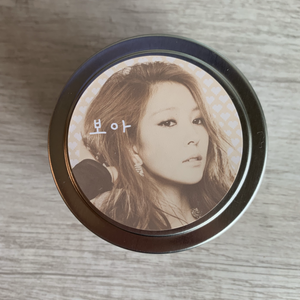BoA Kpop Candle / Vanilla Hazelnut / Queen of Kpop